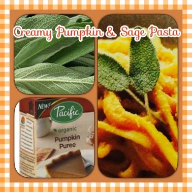 Creamy Pumpkin & Sage Pasta